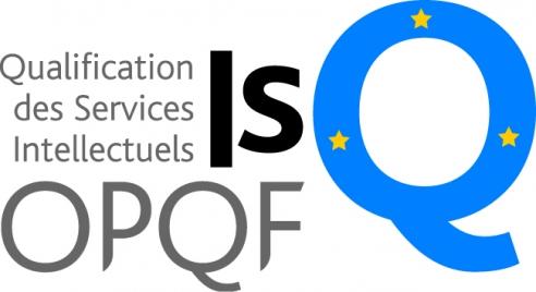 Logo de l'ISQ pour la certification OPQF de French Touch Attitude